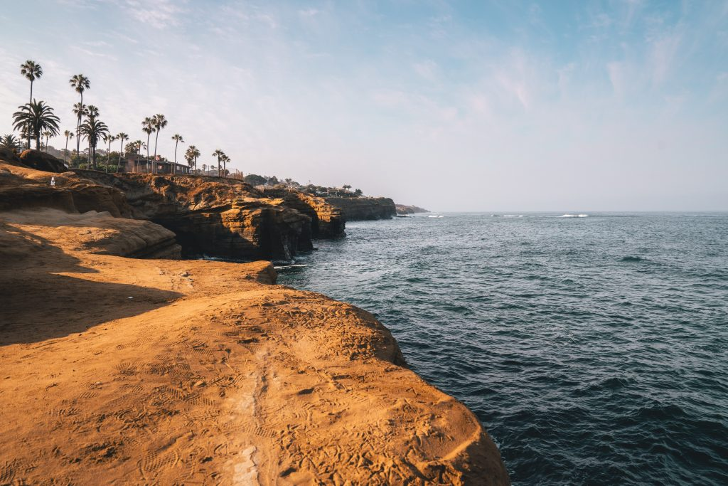 Visit the beach while on your Southern California road trip.